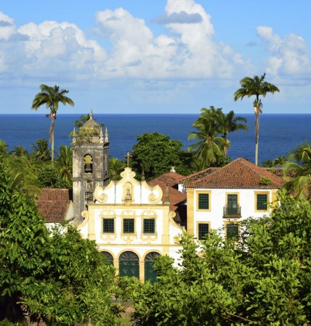 Casco histórico de Olinda en Brasil