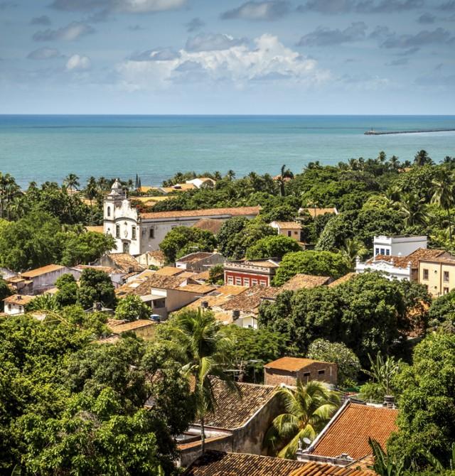 Patrimonio de colores en Brasil
