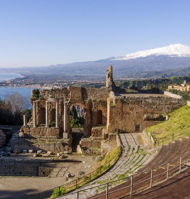 Teatro Antiguo de Taormina