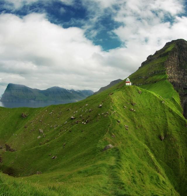 Faros legendarios en Islas Feroe
