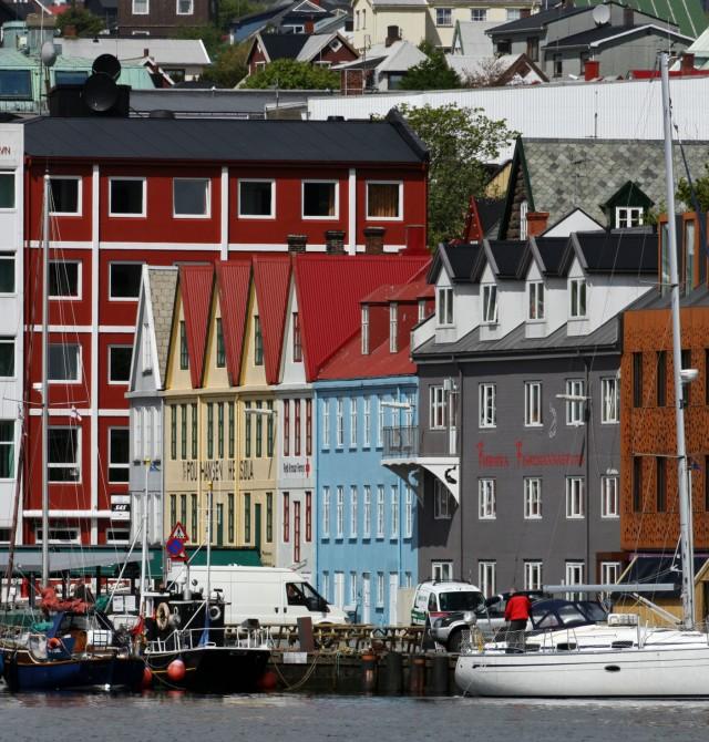 Torshavn, la capital más pequeña del mundo en Islas Feroe