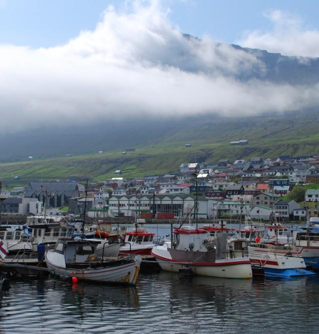 Leirvík - Klaksvík en Islas Feroe