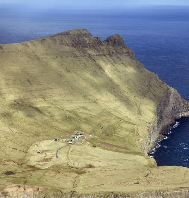 Paisajes del norte en Islas Feroe