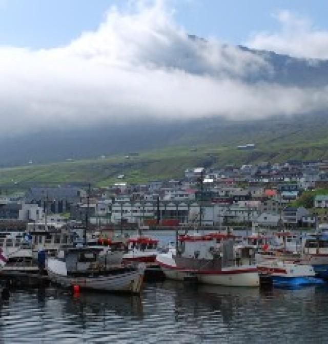 Klaksvík en Islas Feroe