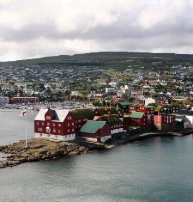 Torshavn en Islas Feroe