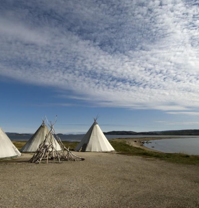 Yurts saam en Noruega