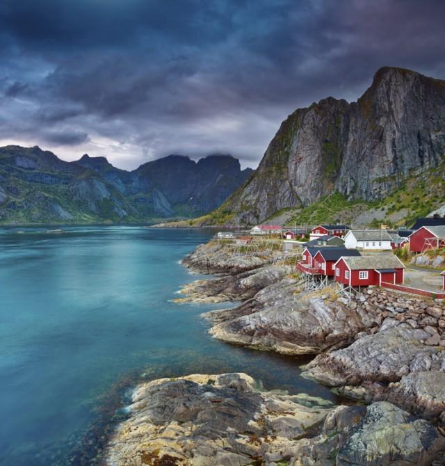Rorbus en Noruega