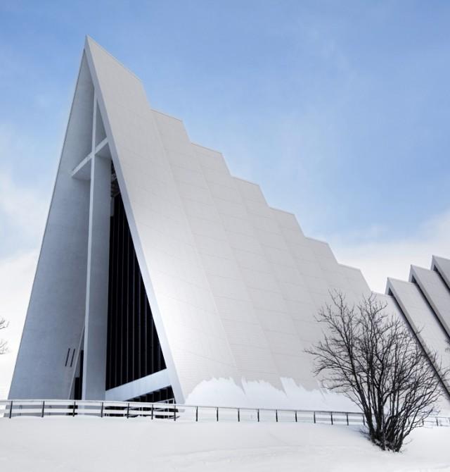 Catedral Ártica de Tromso en Noruega