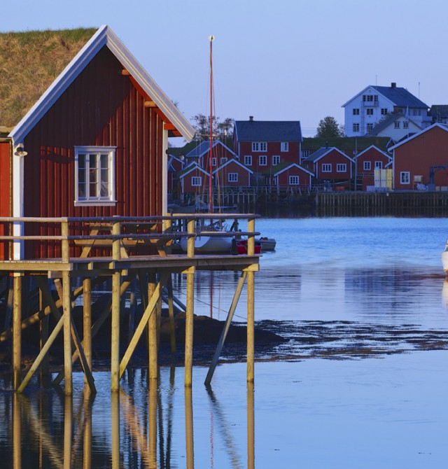 Mortsund en Noruega