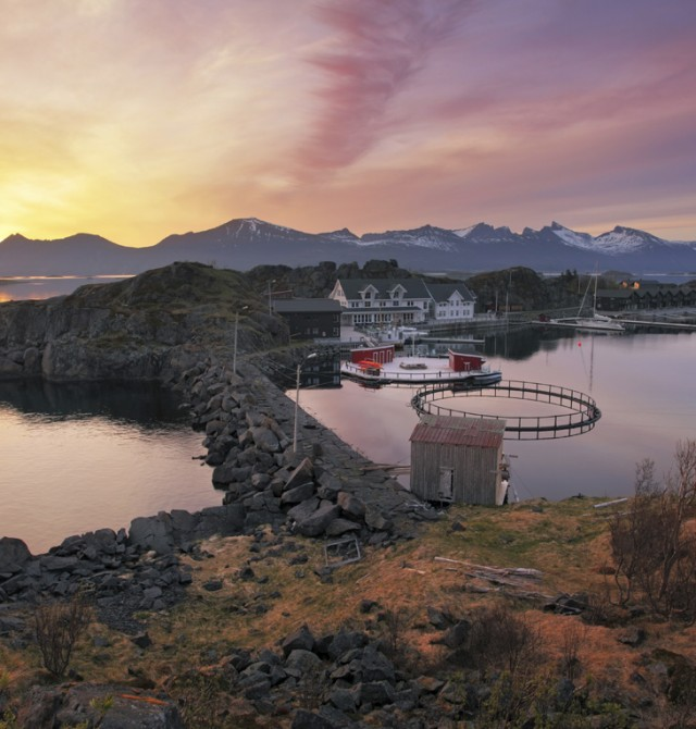 Isla de Senja en Noruega