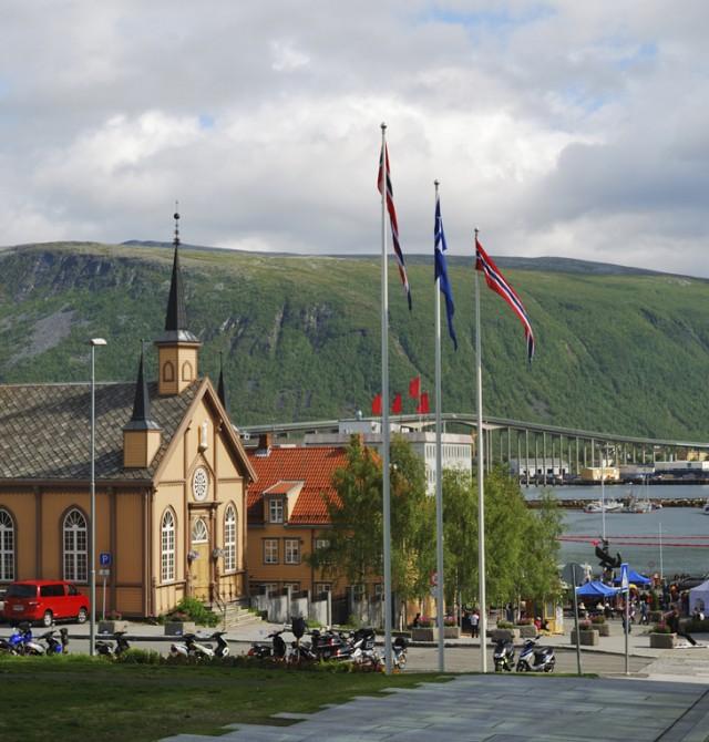 Narvik en Noruega