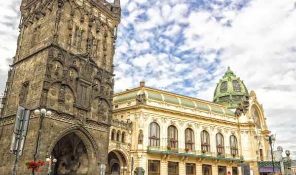 Casa Municipal de Praga. Viaje a Republica Checa, Austria, Polonia y Hungría con PANGEA The Travel Store