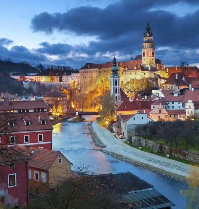 Český Krumlov  en Republica Checa, Austria, Polonia y Hungría