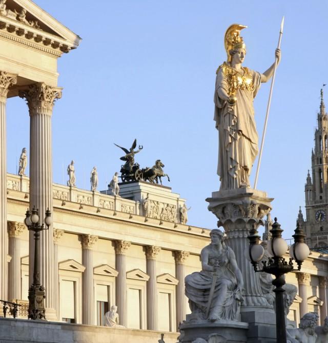 Parlamento austríaco en Republica Checa, Austria, Polonia y Hungría