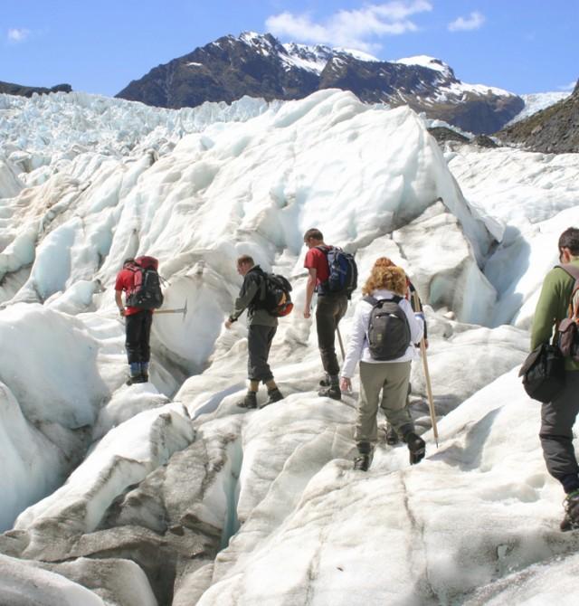 Impresionantes glaciares en la Costa Oeste