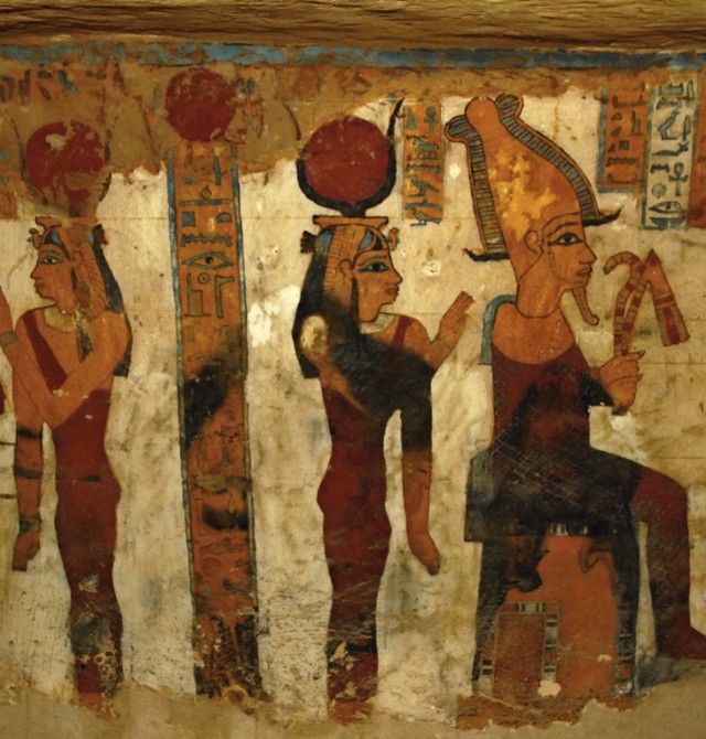 El centro del imperio en Egipto