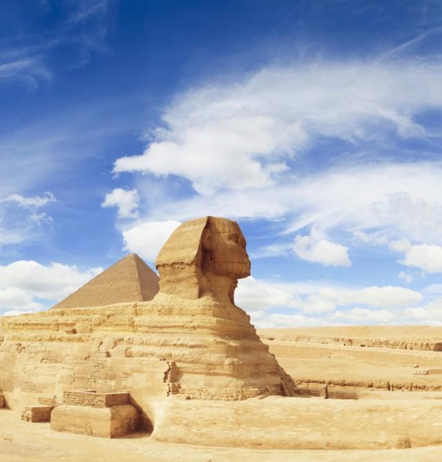 La gran postal en Egipto