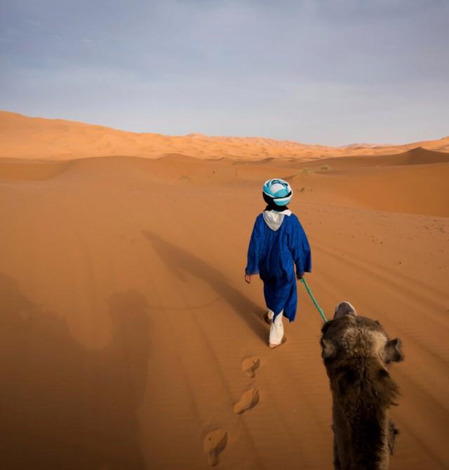 Dunas de Merzouga en Marruecos