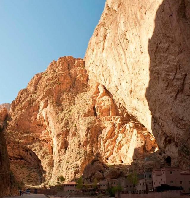 Marruecos vertical en el Todra
