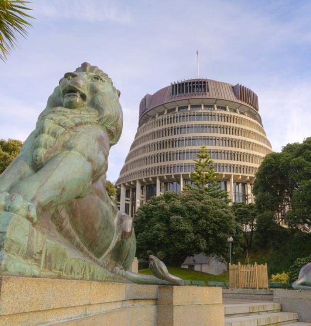 El centro cultural y político neozelandés