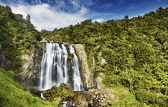 Cascadas Marokopa en Nueva Zelanda y Fiji