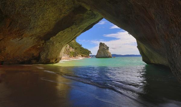 Cathedral Cove. Viaje a Nueva Zelanda con PANGEA The Travel Store