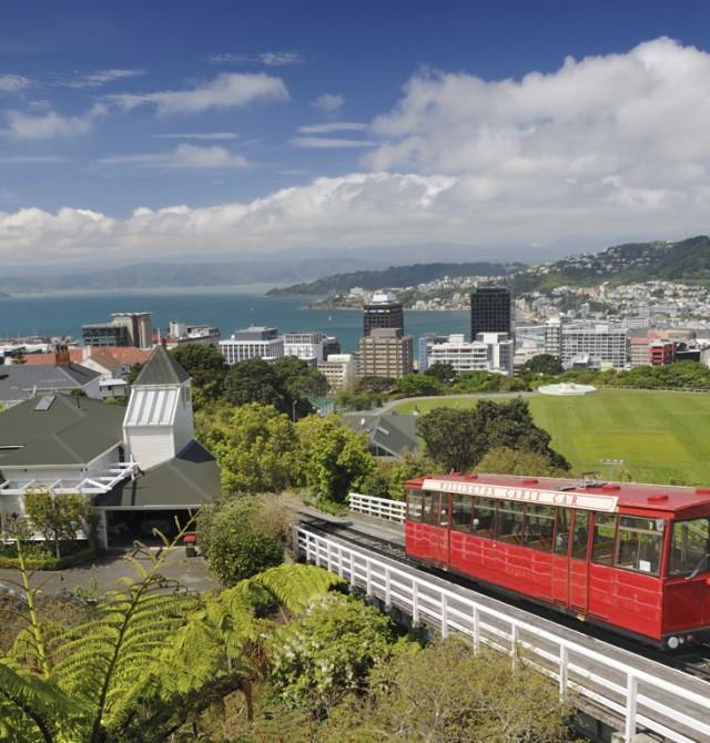 Una ciudad con muchos adjetivos en Nueva Zelanda