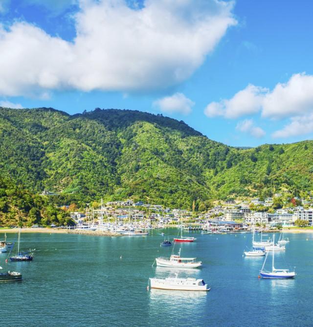 Wellington - Nelson  en Nueva Zelanda