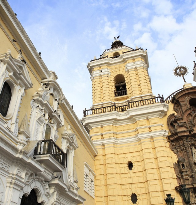 Monasterio de San Francisco en Perú