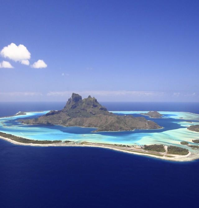 Moorea en Polinesia