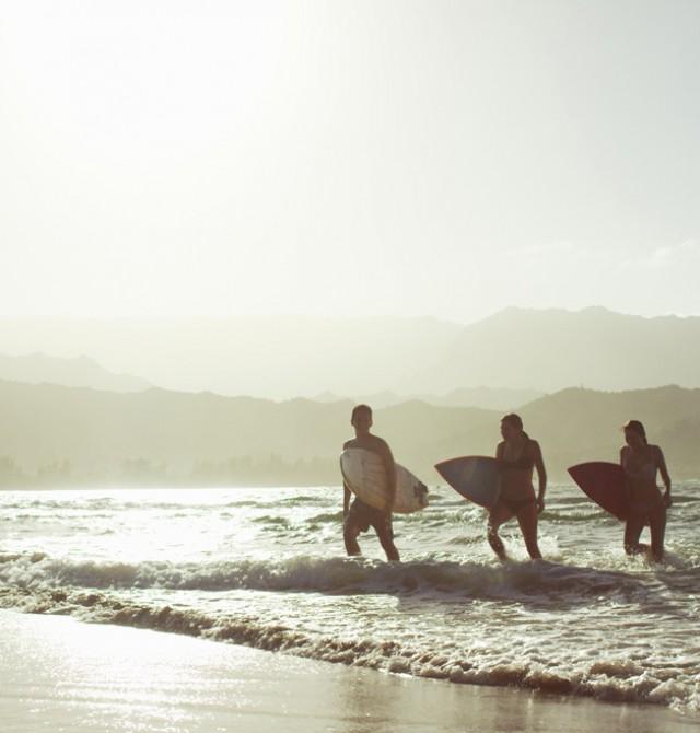 Epicentro del surf y de la vida nocturna en Polinesia