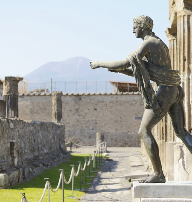 Ruinas de Pompeya en Italia