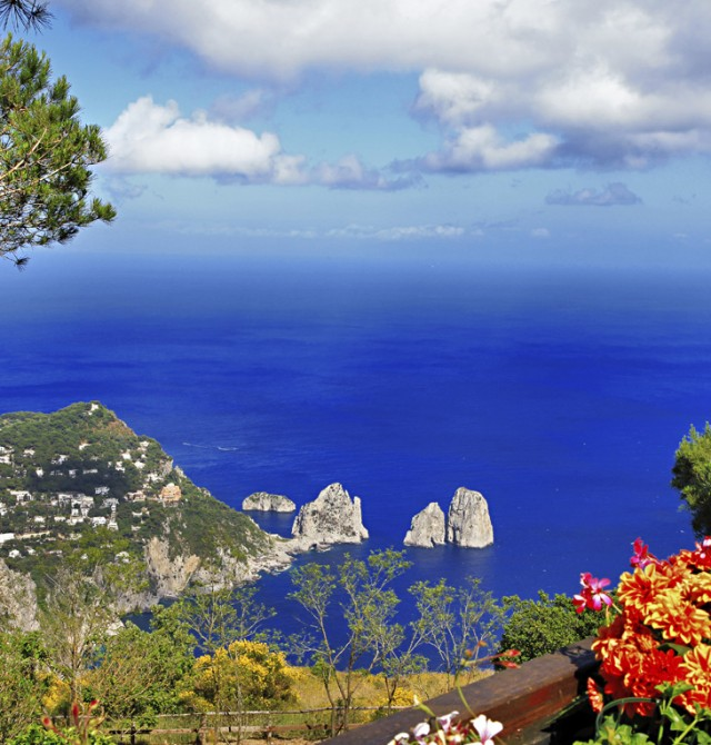 Capri  en Italia