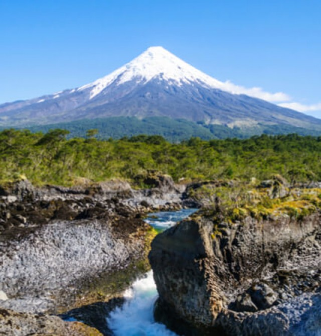 Vista del Volcán Osorno