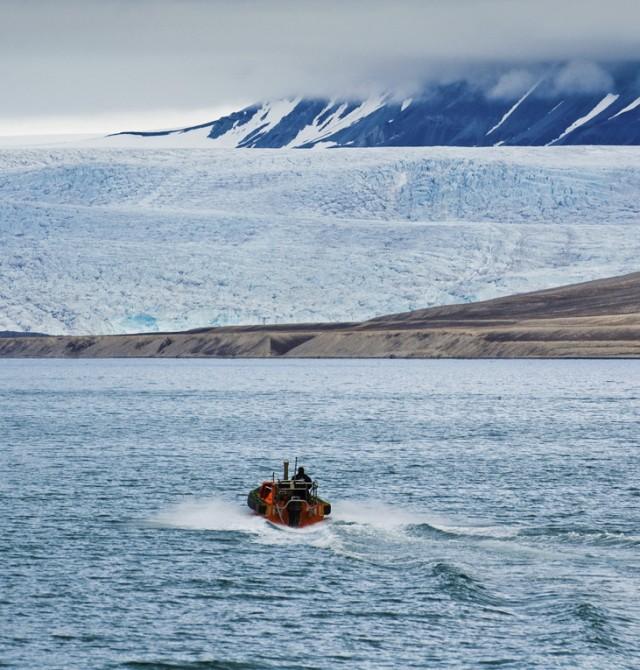Glaciares infinitos en Svalbard