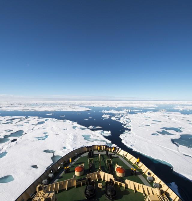 Expedición en rompehielos en Svalbard