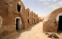 Escenarios de película en Túnez