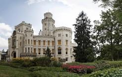 Castillo Hluboka  en República Checa