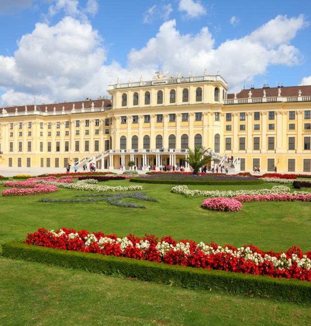 Palacio de Schönbrunn en Austria