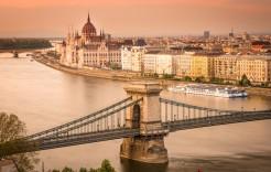 Vista panorámica en Hungría