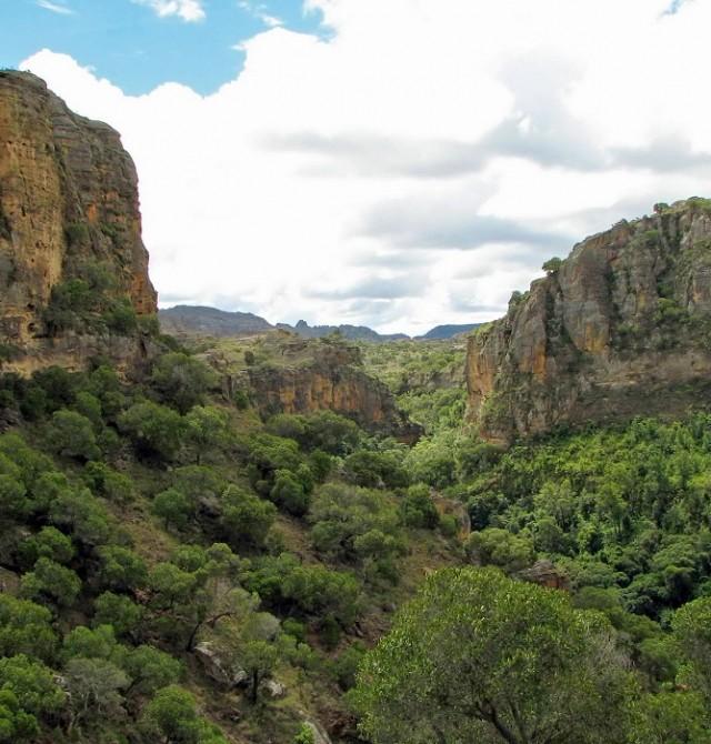 Ranohira en Madagascar