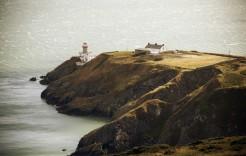 Faro de Baily en el Cabo de Howth en Irlanda