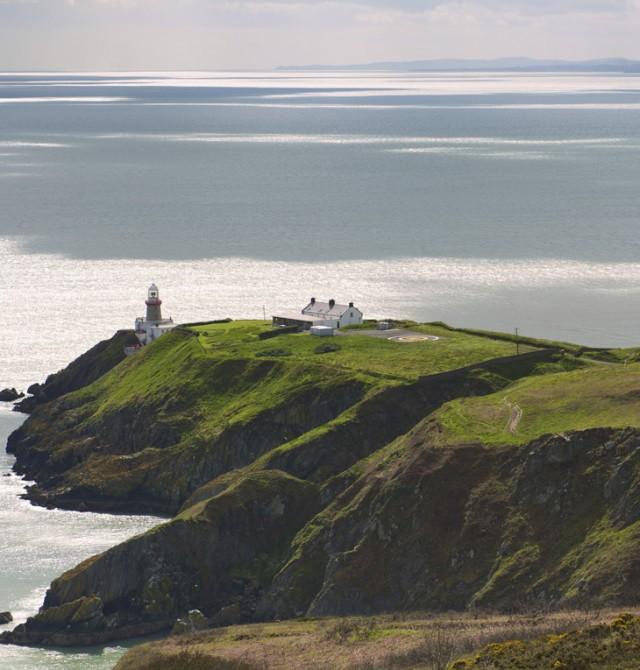 Faro de Baily en el Cabo de Howth