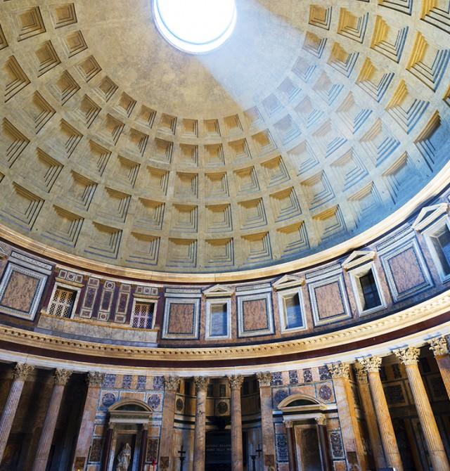 El Panteón en Italia