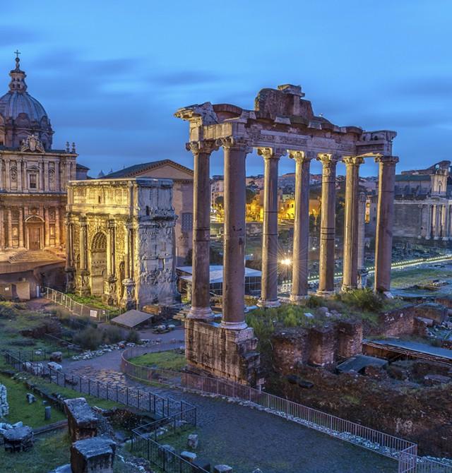 Foro Romano en Italia