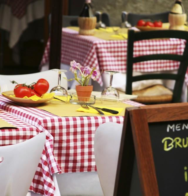Cocina italiana en Italia