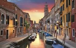 Atardeceres venecianos en Italia