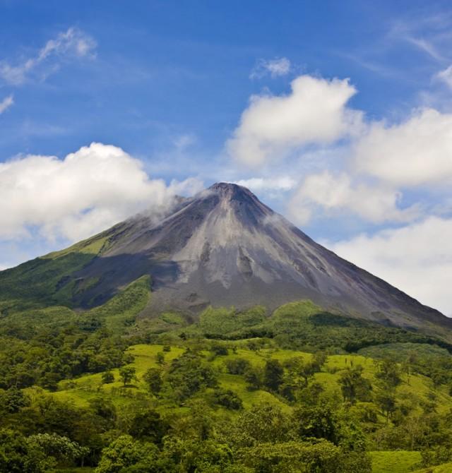 El volcán Arenal