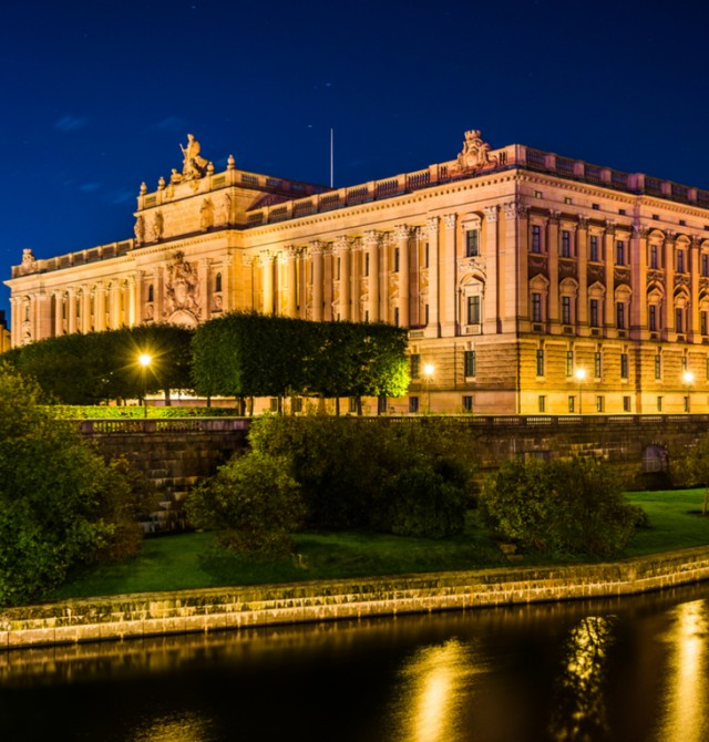 El Parlamento en Suecia