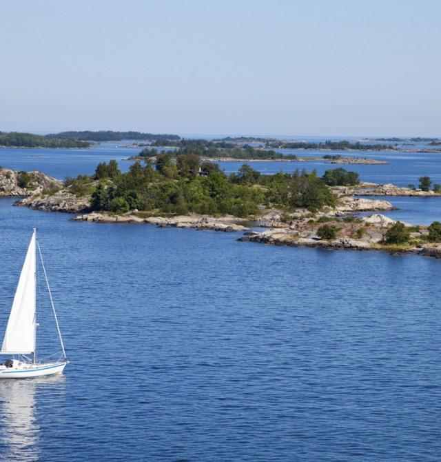 Entre islas en Suecia